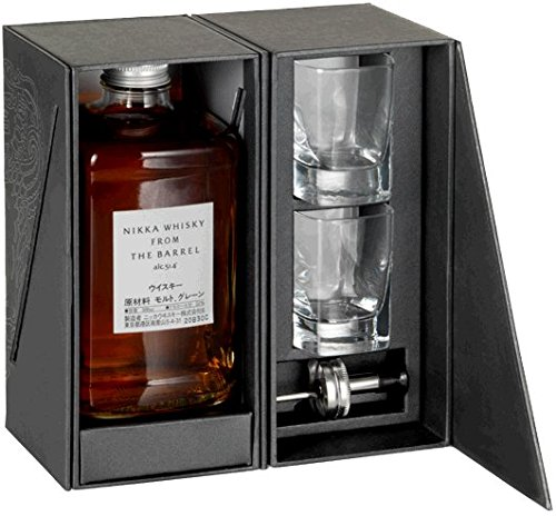 Nikka - From The Barrel 50cl Bottle & Glasses Gift Pack - Whisky