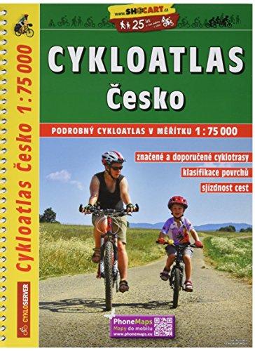 Fahrrad-AtlasTschechien (1:75.000): Shocart Radatlas