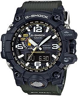 Casio - GWG-1000-1A - Reloj (Reloj de pulsera, Masculino, Resina, Acero inoxidable, Negro, Resina, Negro)