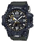 Casio GWG-1000-1A - Reloj (Reloj de pulsera, Masculino, Resina, Acero inoxidable, Negro, Resina, Negro)