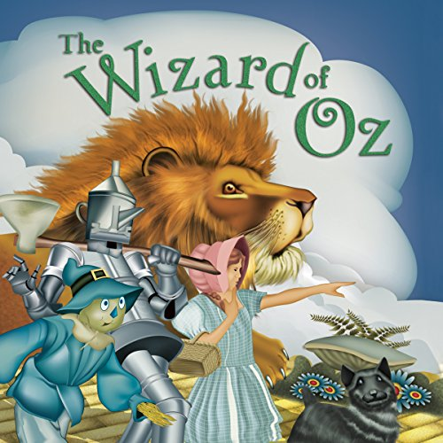 Wizard of Oz audiobook cover art