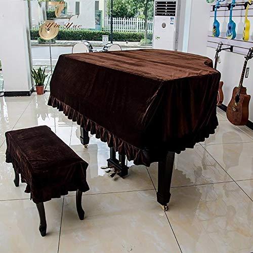 Espesado De La Cubierta De Piano De Cola con Las Heces Conjunto De Polvo...