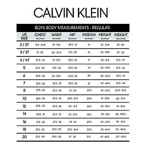 Calvin Klein Big Boys' 2-Piece Formal Suit Set, Infinity Blue, 8