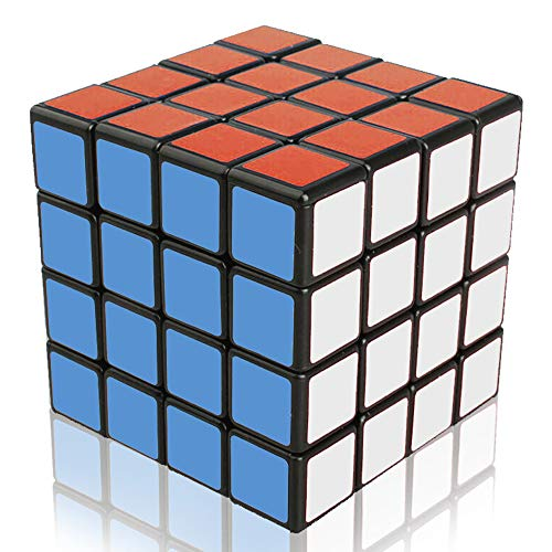 Ilink Classic Standard 4x4x4 Smooth Speed Reliable Puzzle – Professional Original Magic Cube for Kids And Adults