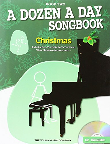 A Dozen A Day Songbook: Christmas - Book Two (Book & CD): Songbook, Bundle, CD für Klavier