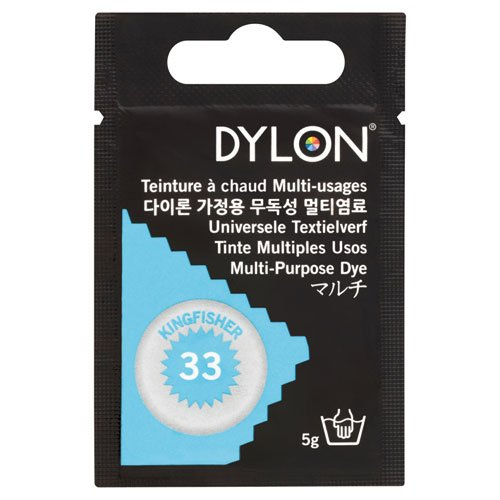 DYLON マルチ 衣類 繊維用染料 5g col.33 キングフィッシャー 日本正規品