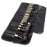 DASFNVBIDFAHB Pincel de Maquillaje, cosméticos for los Ojos 32pcs componen Kits de Cepillo