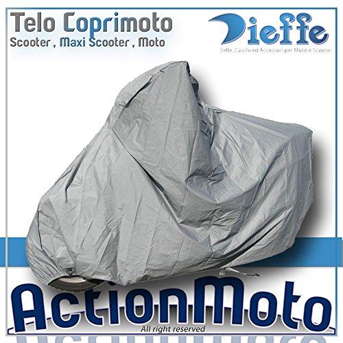 Coprimoto Telo Maxi Scooter Maxi Moto Dieffe America Grigio