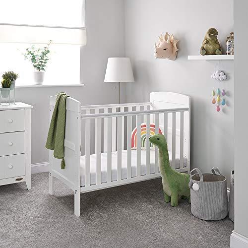 Obaby Grace Mini Cot Bed, White