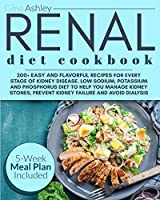 Renal Diet Cookbook: 200+ Easy and Flavorful Recipes for Every Stage of Kidney Disease. Low Sodium, Potassium and Phosphorus Diet to Help You Manage Kidney Stones, Prevent Kidney Failure and Avoid Dialysis. 5-Week Meal Plan Included