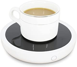 Aizami Coffee Mug Warmer for Office Desk Use, 3 Temperature Setting Beverage Warmer Suitable for Cocoa Tea Milk Warmer, Mu...
