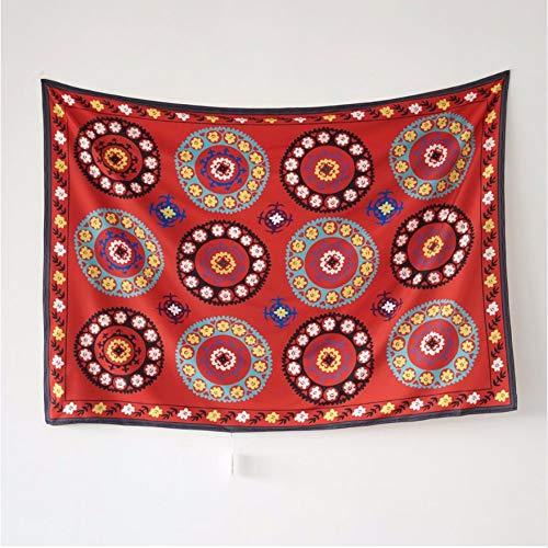 LLLYZZ eindeloze tapijt Mandala Decor opknoping wandtapijt Marokkaanse decoratieve wandtapijten India strand sprei deken