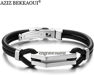fdacf5390537 Amazon.es: pulseras de silicona personalizada: Joyería