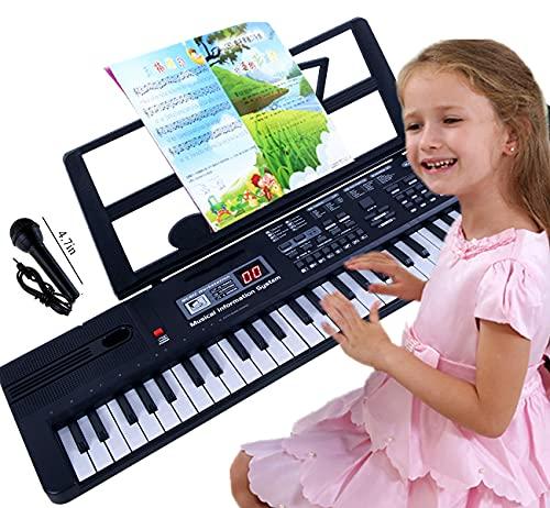 Semart piano keyboard for kids 61 key electric digital music keyboard for beginner...