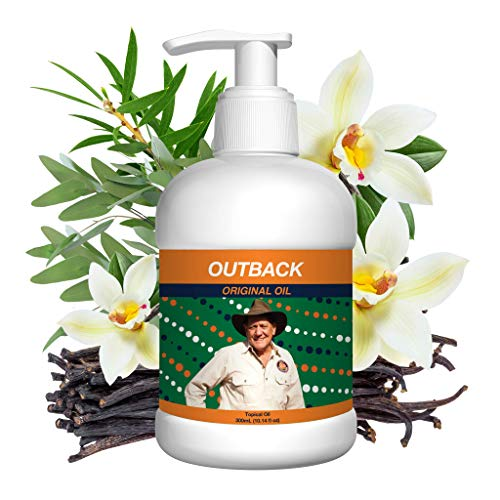 Outback Pain Relief - Extra Strength All Natural Topical Oil Pain Reliever - Safe to Use On Back, Neck, Knee, Shoulder & Foot - Long Lasting Muscle, Nerve & Joint Pain Relief - 300mL (10.14 fl oz)