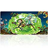 Professional Large Gaming Mouse Pad Extended Mouse Mat Waterproof Mouse Pad with Non-Slip Rubber Base Game Mouse Mat Ideal for Desk Cover, Computer Keyboard, PC and Laptop (90x40daguaiY38)