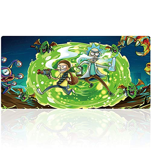 Professional Large Gaming Mouse Pad Extended Mouse Mat Waterproof Mouse Pad with Non-Slip Rubber Base Game Mouse Mat Ideal for Desk Cover, Computer Keyboard, PC and Laptop (90x40 daguaiY38)