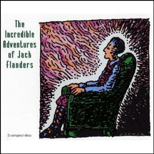 The Incredible Adventures of Jack Flanders audiobook cover art