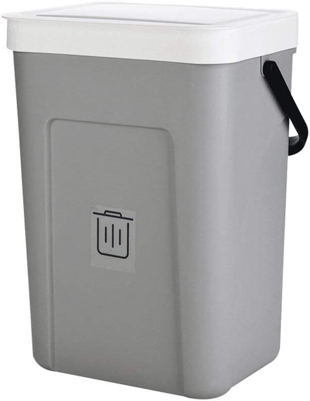 LIKYE Gorgeous Creative Wall-Mounted Trash can B Max 74% OFF Kitchen Fashion Portable