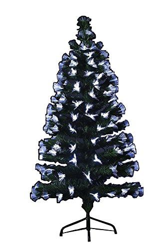 Albero di Natale a fibre ottiche Segueney altezza 120 cm