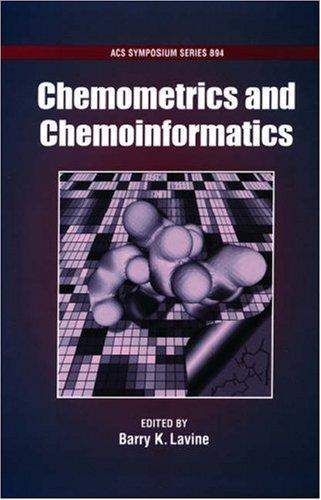 Chemometrics and Chemoinformatics PDF Books