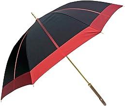 傘 レディース 雨傘 長傘 日本製 親骨62cm ジャンプ ワンタッチ 甲州産先染め生地使用 親骨62cm中ボーダー柄日本製ジャンプ式雨傘