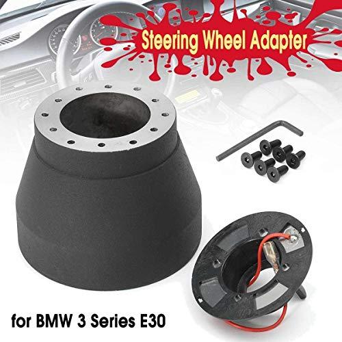Without brand XXF-lgspq, 1set Racing Lenkrad Hub Quick Release Adapter Boss Kit Fit for BMW 3er E30 82-91 Lenkradnabe Boss Kit