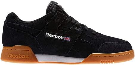 Reebok Workout Plus Eg (Black/White/Gum) Unisex Shoes CN1050