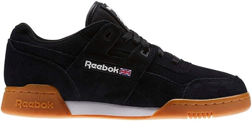 Reebok Workout Plus EG Black/White/Gum   CN1050