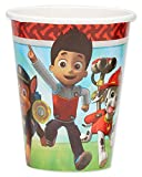 American Greetings Paw Patrol Party Supplies 9 oz. Disposable Paper Cups, 8-Count
