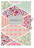Vintage & Co Fabric & Flowers Scented Drawer liners - Pack of 6