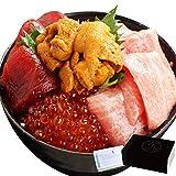 プレゼント 贈答用 ギフト お歳暮 人気 ランキング 海鮮 魚 まぐろ 大トロ うに いくら マグロ漬け 鮪たたき(ネギトロ) 高級海鮮五色丼 4~5人前