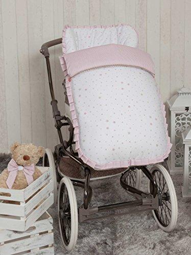 Babyline Sueños - Saco de silla de paseo, color rosa