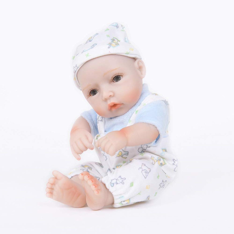 Rocking Horse Handmade Baby NewBorn Soft Doll,My First Reborn Baby Dolls Toy,11 Inch Handmade Gift Set,Maledoll