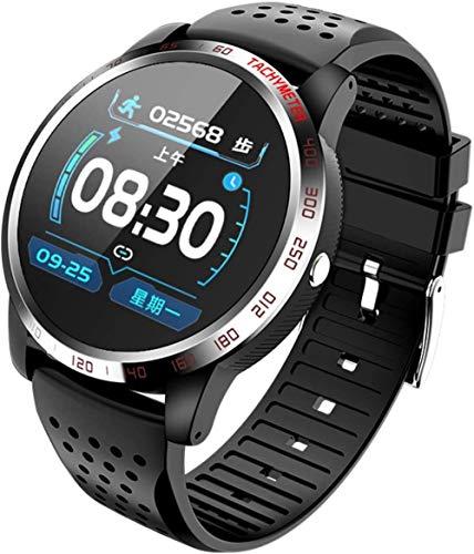 Reloj inteligente de alta definición con monitor de actividad física, monitor de frecuencia cardíaca, IP67, resistente al agua, reloj inteligente para hombres y mujeres (color: B)-B
