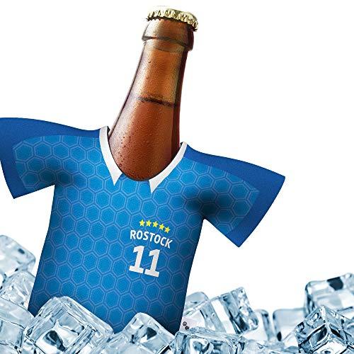 Herren Trikot 2019/20 kühler Home für Hansa Fans | FUßBALL-Gott | 1x Trikot | Fußball Fanartikel Jersey Bierkühler by Ligakakao