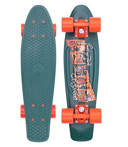 PENNY skateboard(ペニースケートボード)22inch GRAPHICS POSTCARD COLLECTION HIGHLAND グリーン 0PGR4