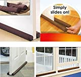 Wise-Product Twin Draft Guard Door Stopper Your Energy Saver and Protector