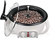 Household Coffee Bean Roaster, Coffee Roaster Machine for Nut Peanut Cashew Chestnuts Roasting for Cafe Shop Home Use - 110V