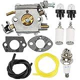Savior 309362003 Carburetor Primer Bulb Spark Plug for 309362001 300939006 Homelite 35cc 38cc 42cc UT-10540 UT-10542 UT-10544 UT-10546 UT-10548 UT-10549 UT-10560 UT-10562 Cycle Chainsaws