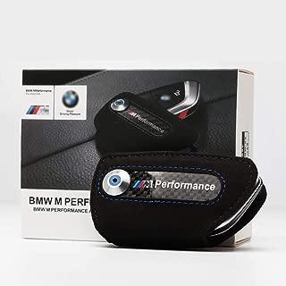 Bailunte Compatible BMW Car Key case M Performance Car Smart Remote Key Fob Cover Key Fob Case Key Bag Fits BMW Accessories