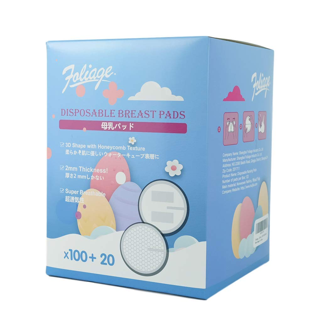 Outstanding Large special price Foliage Disposable Nursing Pads for Breastfeeding 2m Ultra-Thin