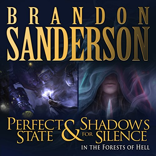 Shadows for Silence in the Forests of Hell & Perfect State audiobook cover art