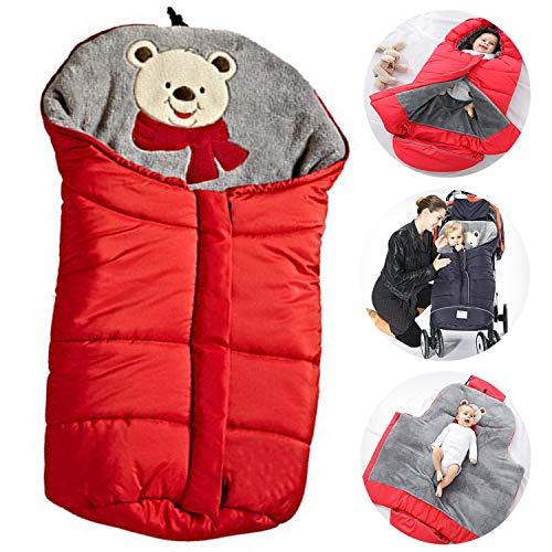 Bospyaf Autunno E Winter, kinderwagen, slaapzak, dikke deken voor kinderen, universeel, babybeddengoed