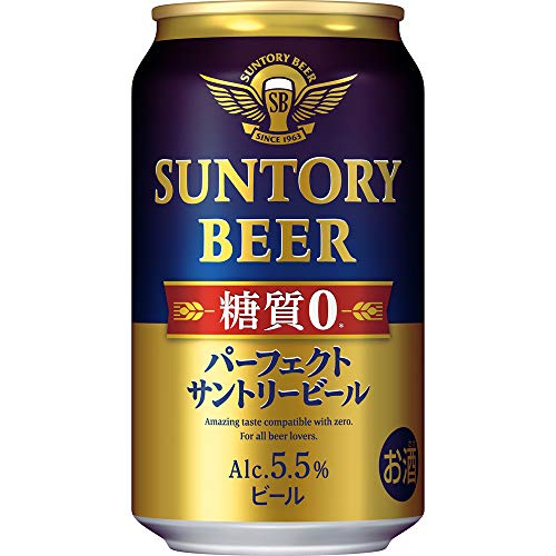 【本格ビールなのに糖質ゼロ】 パーフェクトサントリービール [ 350ml×24本 ]