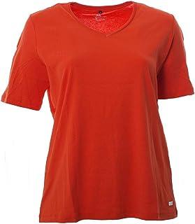 NEU Übergröße Damen Shirt eleganter Ausschnitt 3//4 Arm Gr.42,50,52,54,56,58,60