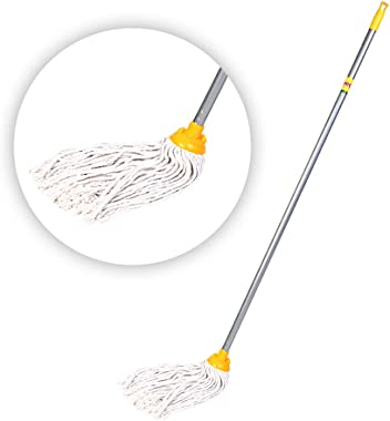 HIC Deck Floor Cotton Mop (Assorted Colour)