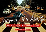 Paul McCartney Poster Paul Is Live