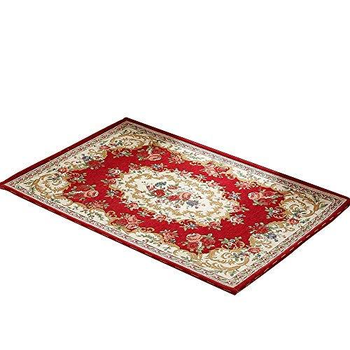 MEVIDA tapijt mat-kunststof/antislip antislip, antislip, comfortabel en zacht, Europese deurmat voor woonkamer open haard in slaapkamer-3 kleuren verkrijgbaar in 2 maten