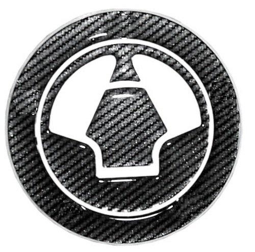 A de Pro Colle Réservoir Carburant Essence Casquette Kawasaki Autocollants Look Carbone Pad Carbone